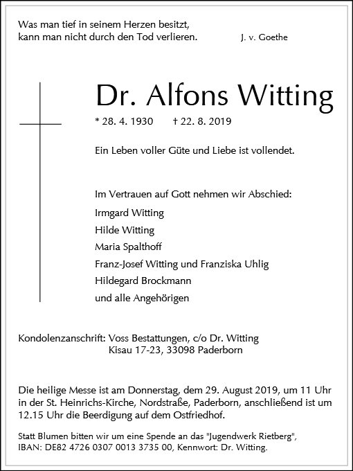 Alfons Witting