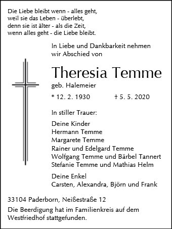 Theresia Temme