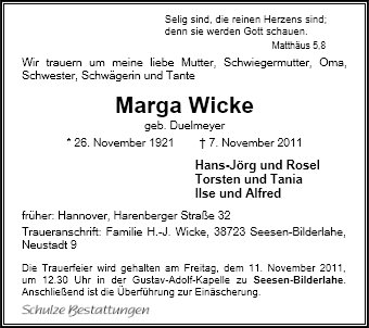 Marga Wicke