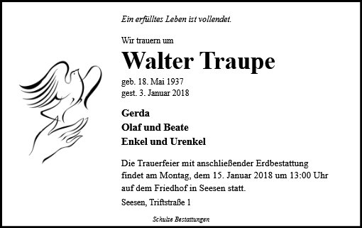 Walter Traupe