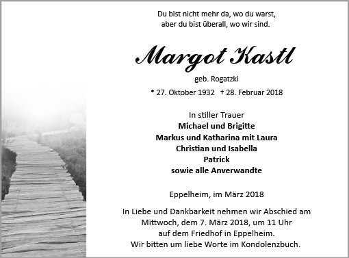 Margot Kastl