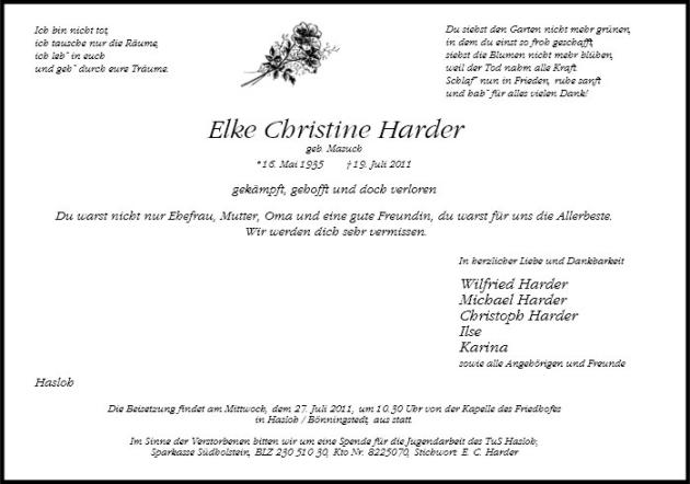 Elke Christine Harder