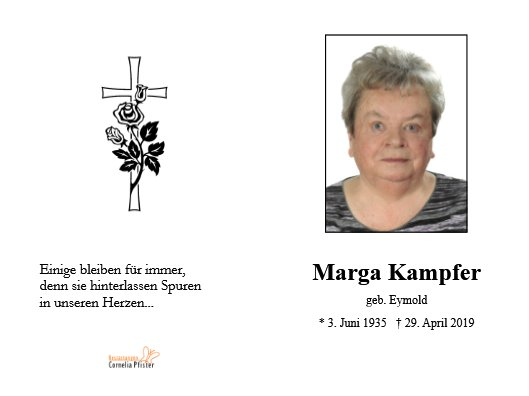 Margareta Kampfer