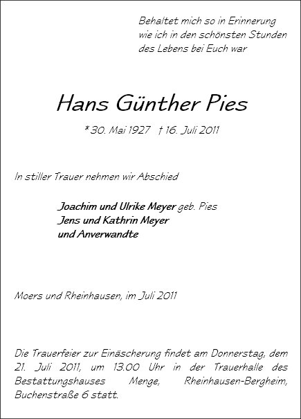 Hans Günter Pies
