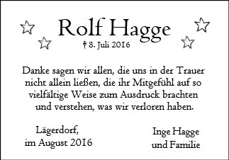 Rolf Hagge
