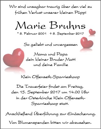 Marie Bruhns