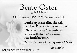 Beate Oster