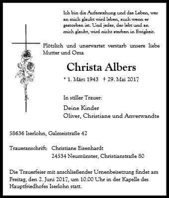 Christa Albers