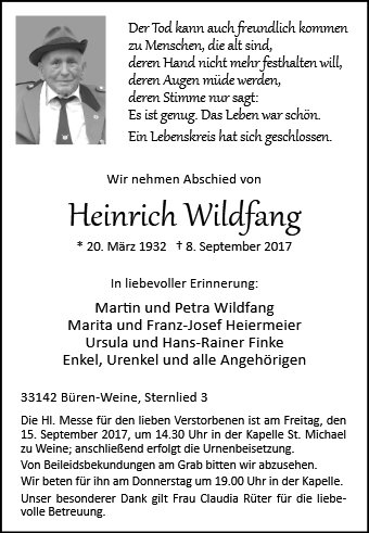 Heinrich Wildfang