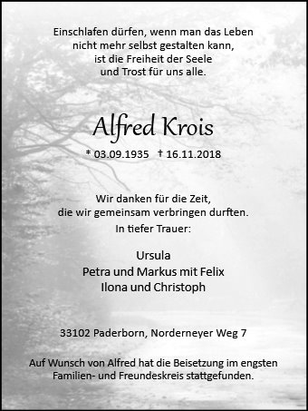 Alfred Krois