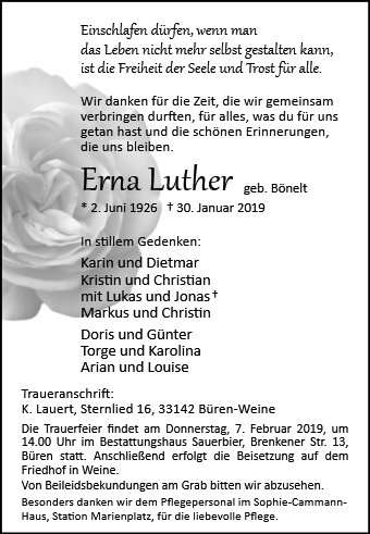Erna Luther
