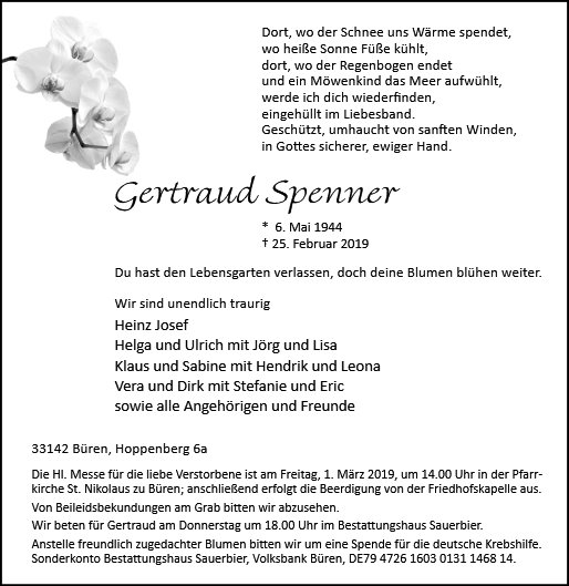 Gertraud Spenner