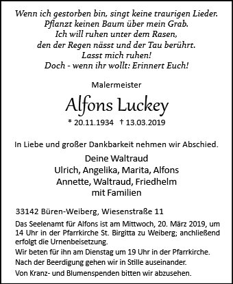 Alfons Luckey