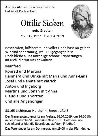 Ottilie Sicken