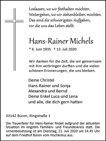 Hans-Rainer Michels