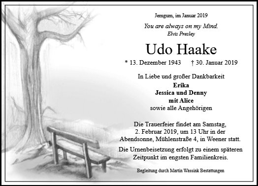 Udo Haake