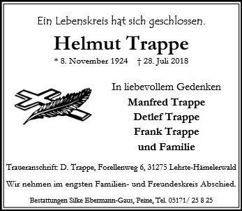 Helmut Trappe