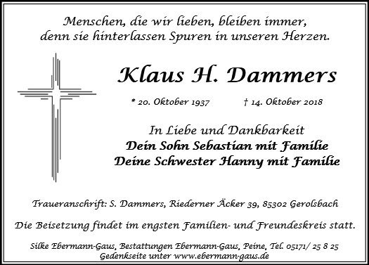 Klaus H. Dammers