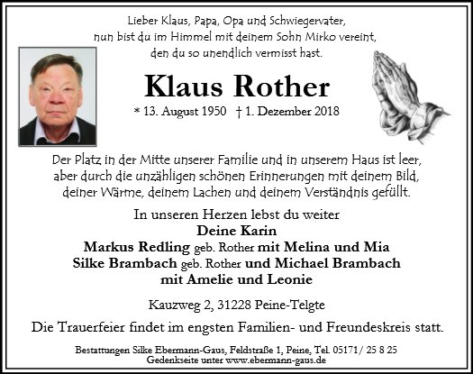 Klaus Rother