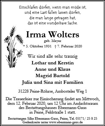 Irma Wolters