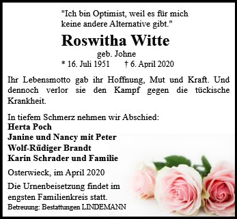 Roswitha Witte