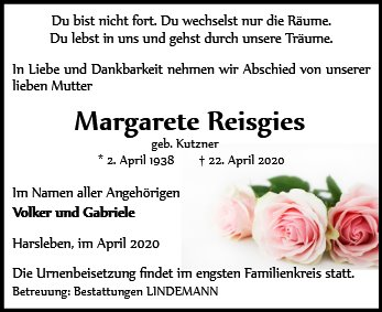Margarete Reisgies