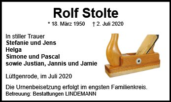 Rolf Stolte