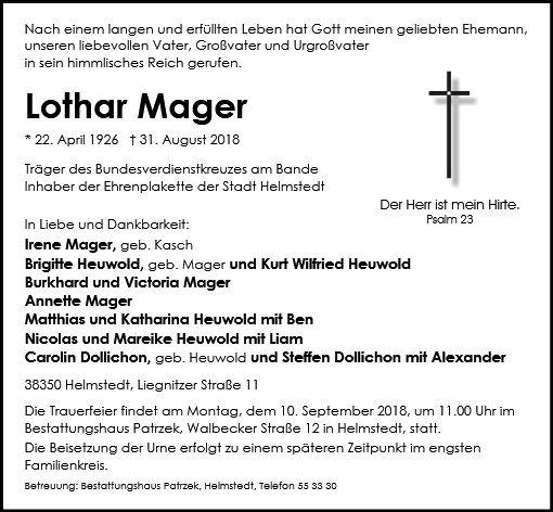 Lothar Mager
