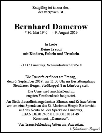 Bernhard Damerow