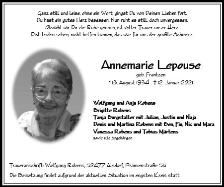 Annemarie Lepouse