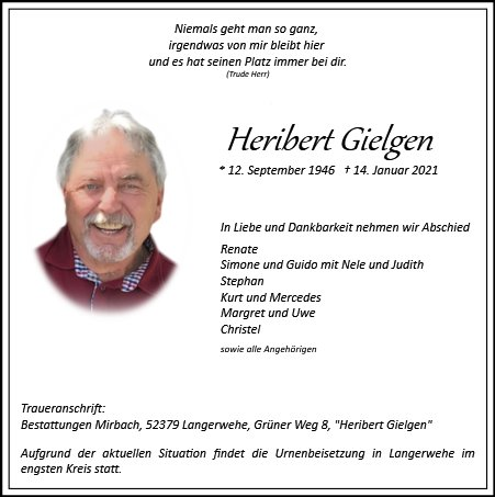 Heribert Gielgen