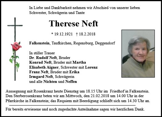 Therese Neft