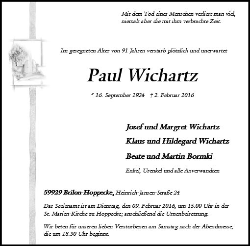 Paul Wichartz
