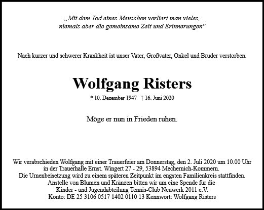 Wolfgang Risters